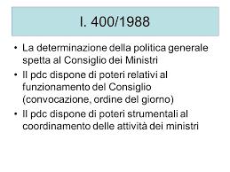 convocazione consiglio dei ministri diritto costituzionale forme di stato e di governo ppt
