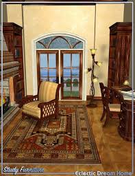 Interior Design Home Study Dream Home Study Furniture Eclectic 3d Models And 3d Software