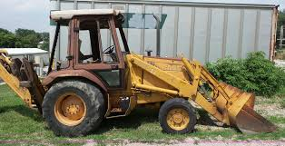 1990 case 580k backhoe item av9917 sold july 28 constru