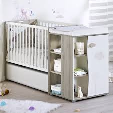 sauthon chambre bebe nael lit de chambre transformable 60x120 frêne blanc de sauthon