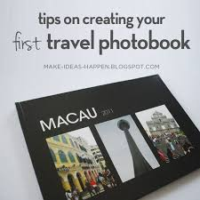 travel photo album make ideas happen photobook tips vol 01 macau travel memories