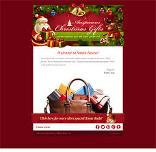 more christmas holiday landing page u0026 email newsletter templates