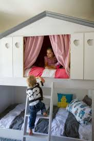 girls house bunk bed 27 best wonen bedstee images on pinterest 3 4 beds boy rooms
