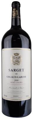 30 years of château gruaud 2000 sarget de gruaud larose julien magnum wine library