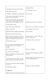 adverb lessons lesson plan adverbs