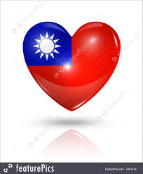 Flag Taiwan Flags Taiwan Heart Flag Icon Stock Illustration I3814134 At
