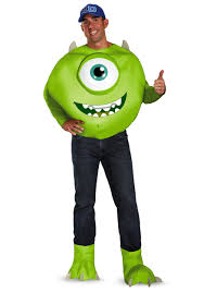 Party Costumes Halloween Monsters Size Deluxe Mike Costume Size Halloween