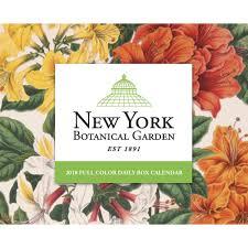 botanical calendars new york botanical garden desk calendar 9781682347126