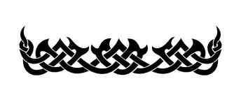 black ink celtic armband tattoo design tattooshunt com