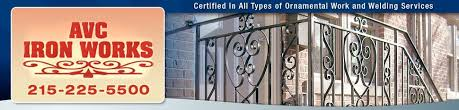 ornamental iron philadelphia pa avc iron works