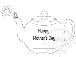 mother s day teapot patterns patterns kid