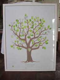 Wedding Tree Thumbprint Wedding Tree 5 Steps With Pictures