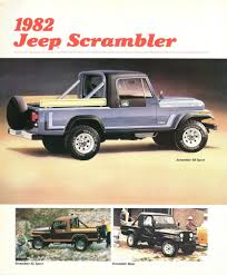 scrambler jeep jeep scrambler thank you wheels on the workbench pickups