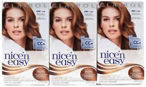 light caramel brown hair color 3 clairol nice n easy permanent hair dye 6w 116b natural light