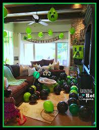 minecraft balloons minecraft party ideas