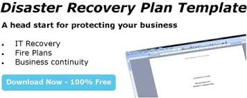 disaster recovery plan document u0026 file storage