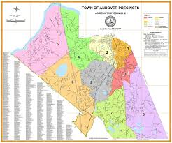 Election Map 2012 by Elections Andover Ma