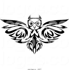 clipart owl black and white royalty free owl logo by vector tradition sm 4077