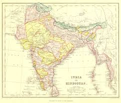British India Map by Map Index Tornos India