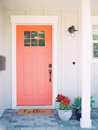 Front Door Color Best 25 Coral Front Doors Ideas On Pinterest Coral Door