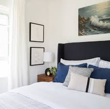 How To Arrange Pillows On King Bed How To Style Your Bed Emily Henderson