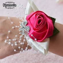Red Prom Corsage Prom Wrist Corsage Reviews Online Shopping Prom Wrist Corsage