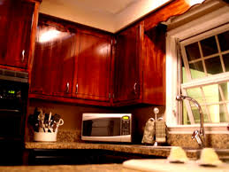 Brookhaven Kitchen Cabinets Bathroom Comely Stained Kitchen Cabinets Home And Design Gallery