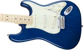 Sapphire Blue Fender Deluxe Stratocaster Maple Fingerboard Sapphire Blue