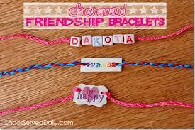 bracelet friendship name images Kids 39 charmed friendship bracelets chaos served daily jpg