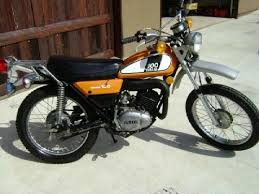 1974 yamaha dt 100 enduro this picture was just like my first