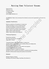 Resume Samples Volunteer Positions by Animal Shelter Volunteer Sample Resume