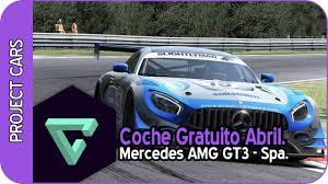 mercedes espa l project cars coche gratuito mercedes amg gt3 spa
