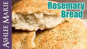 Rosemary Garlic Bread Machine Recipe How To Make Rosemary Bread Macaroni Grill Copycat Recipe Youtube