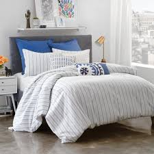 Blue Striped Comforter Set Amalfi Stripe Comforter Set U2013 Under The Canopy