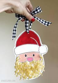 santa ornament free printable with no yolks noodles