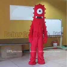 Halloween Mascot Costumes Cheap Discount Gabba Mascot Costume 2017 Mascot Cartoon Yo Gabba