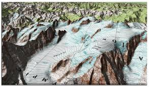 Colorado Elevation Map by Usgs Topographic Maps Google Earth Library