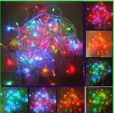 100 led multi color christmas lights only 6 48 shipped reg
