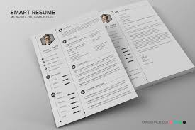 Resume Wizard Template Smart Resume Cv Set Resume Templates Creative Market