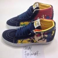 Jual Vans Beatles daftar harga sepatu vans sk8 high x the beatles sub marine bulan mei