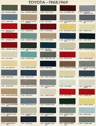 cruiser color codes land cruiser pinterest color codes