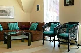 Blue And Brown Decor Warm Blue And Brown Living Room Decor Great Attention To Detail In