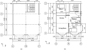 three story floor plans application of energy dissipation devices for seismic protection
