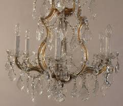 Crystorama Chandeliers Sale Maria Theresa Seven Light Chandelier For Sale At 1stdibs