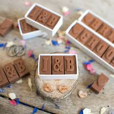 wedding favours personalised chocolate wedding favours by morse toad chocolate