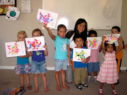 welcome baby play group craft the rainbow fish