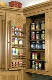 spice rack cabinet insert spice rack cabinet insert spice storage ideas shelves on door