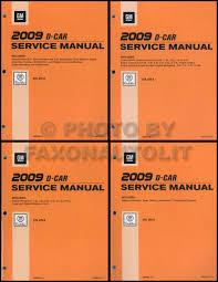 2009 cadillac cts manual 2009 cadillac cts and cts v repair shop manual 4 volume set original