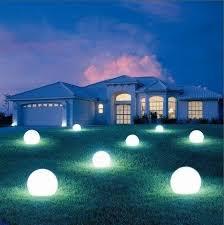 floating pool ball lights led garden light swimming pool floating ball light id 7221439
