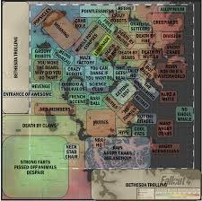 Fallout 3 Bobblehead Map by Finally Someone Made It For Fallout 4 My Stuff Pinterest